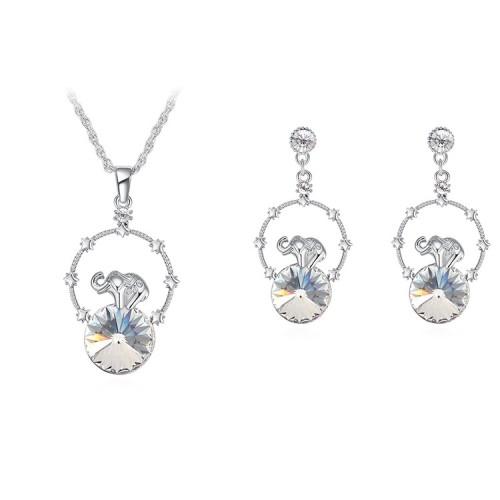 Baby elephant jewelry set 30073