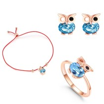 owl jewelry set 30565