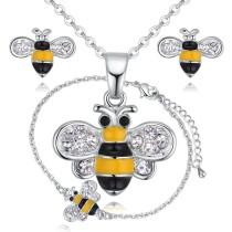 Bee jewelry set 28839