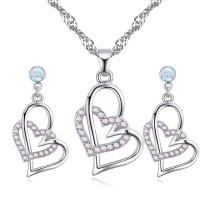 heart jewelry set 26998