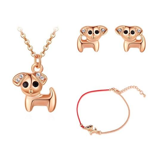 dog jewelry set 30146