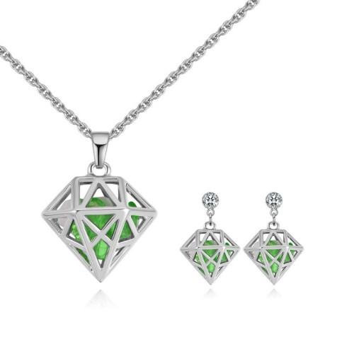 Diamond jewelry set 28885