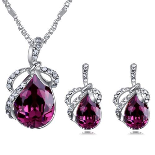 Bowknot Drop jewelry set 26348