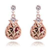 Lucky bottle earrings