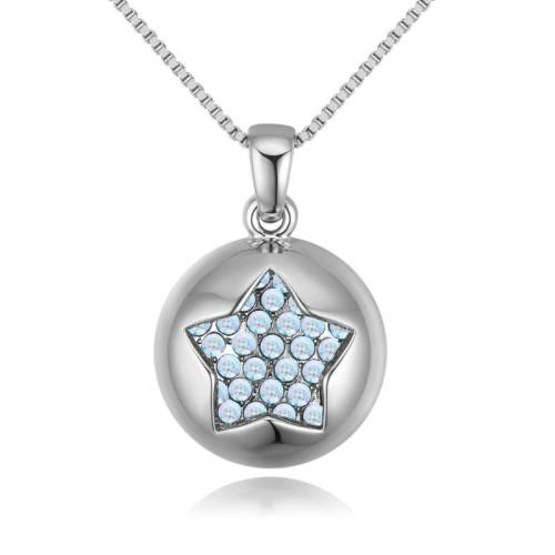round star necklace