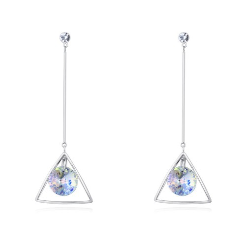 triangle long earring 28324