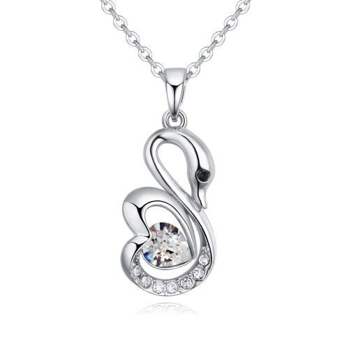 swan necklace 27086