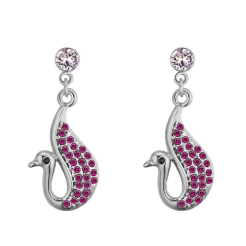 Swan earrings 28113