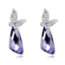 Butterfly drops earrings 27058