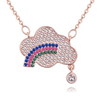 Rectangular necklace 27931