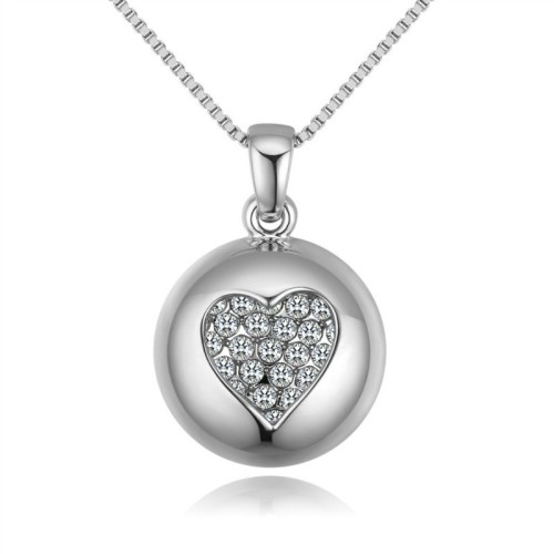 round heart necklace 28848