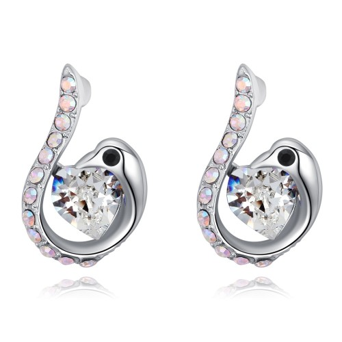 swan earring 27017