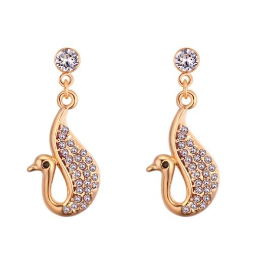 Swan earrings 28112