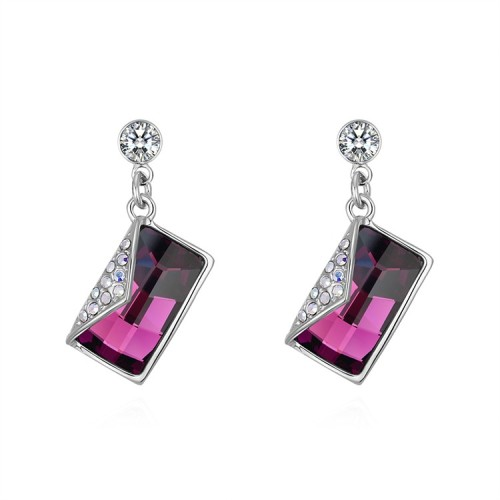 Square earrings 30101