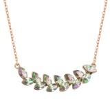 Olive branch necklace