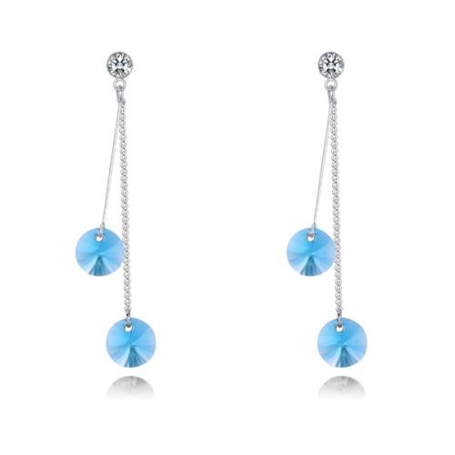 Two-tone earrings 28347