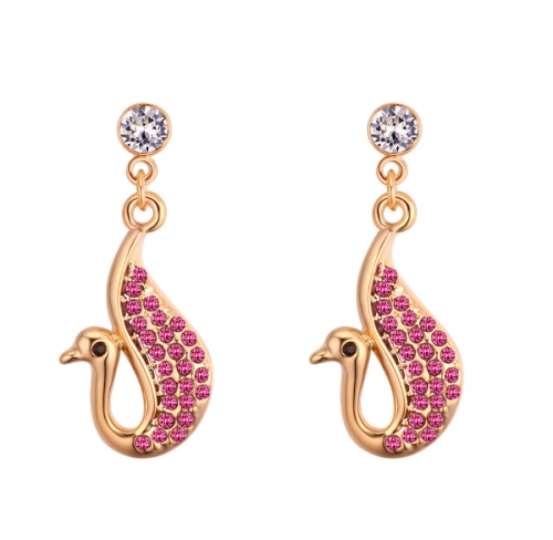 Swan earrings 28108