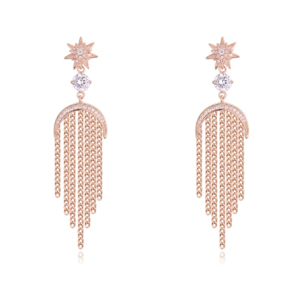 Tassel Stud Earrings 27916