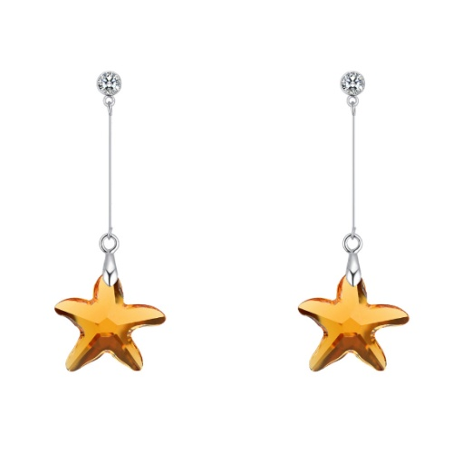 Starfish earrings 28326