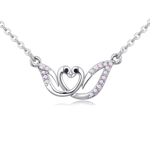 swan necklace 26753