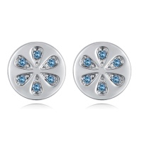 Round earrings 28050