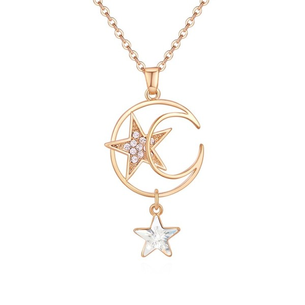 star moon necklace 30471