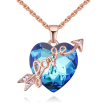 Heart necklace 28557