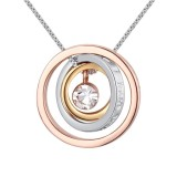 round crystal necklace 25883