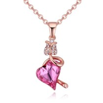 Heart necklace 28600