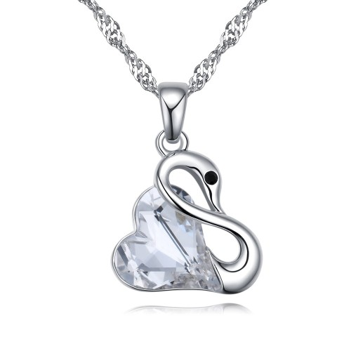 swan necklace 26120
