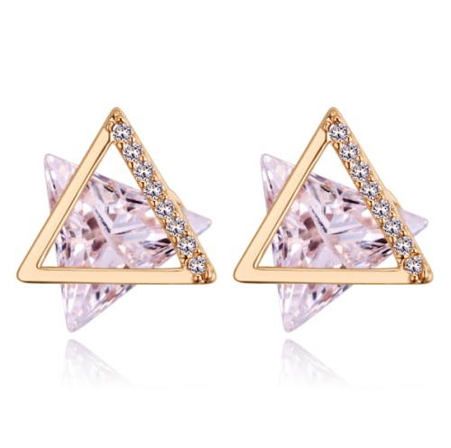 Six-pointed star earrings 27912