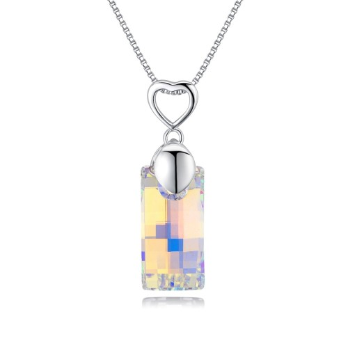 Rectangular necklace 27409