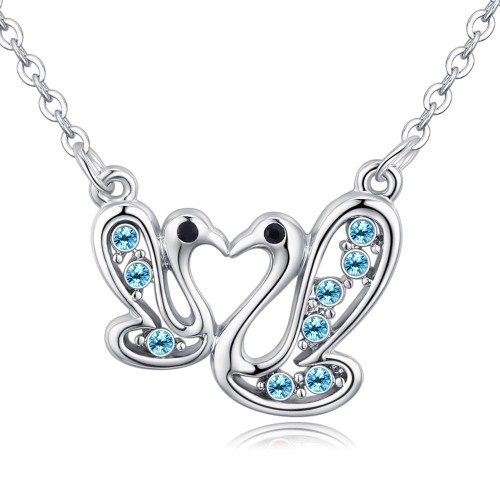 swan necklace 26730