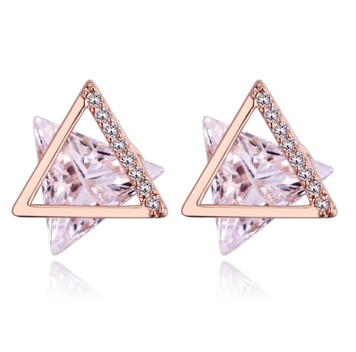Six-pointed star earrings
