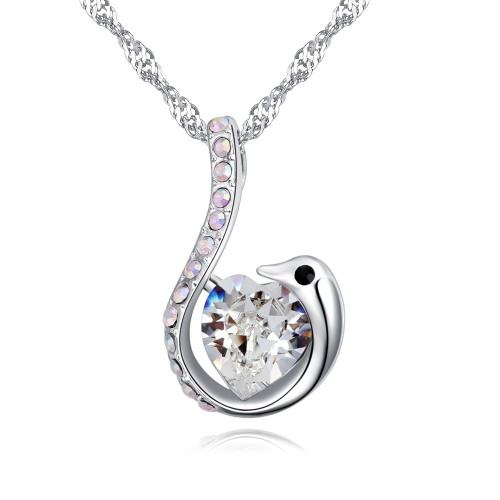swan necklace 27008