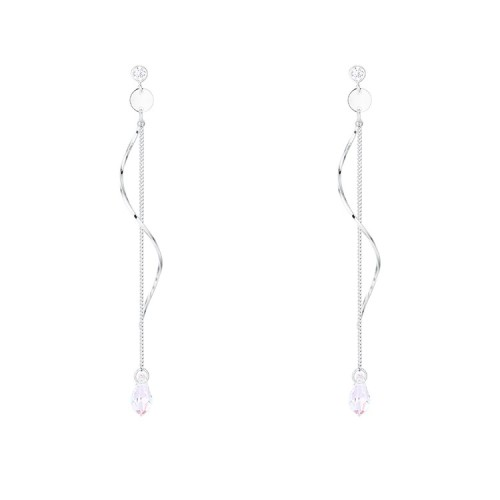 Wave long earrings 30673