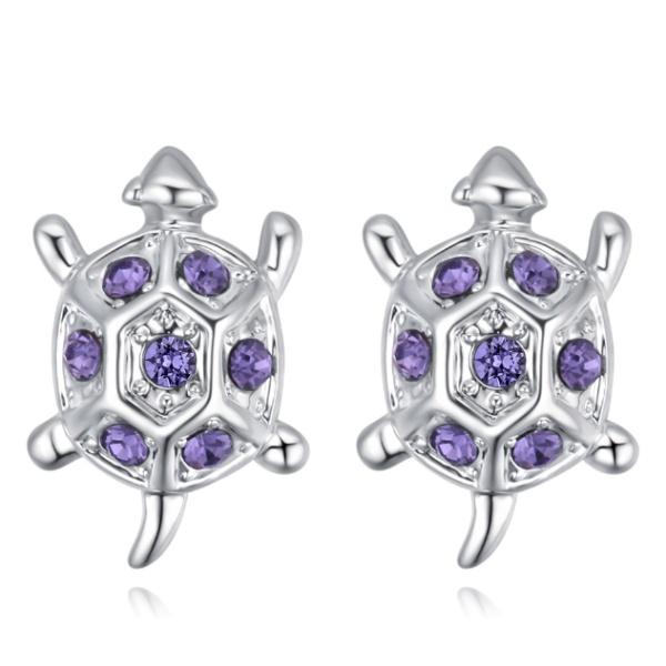 Turtle earrings 28412
