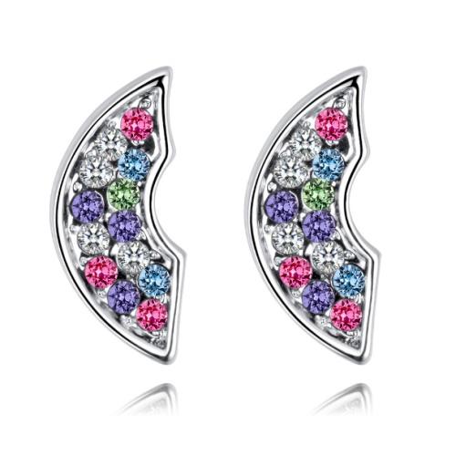 Semicircular earrings 28500