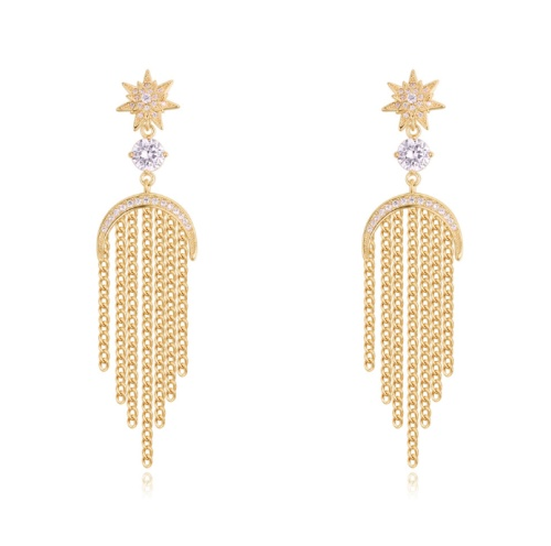 Tassel Stud Earrings 27915