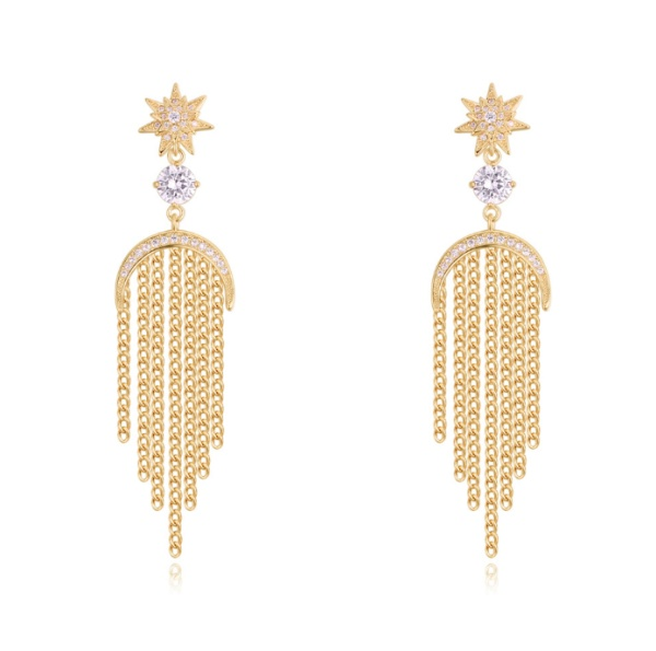 Tassel Stud Earrings 27915