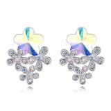 rose earring 27144