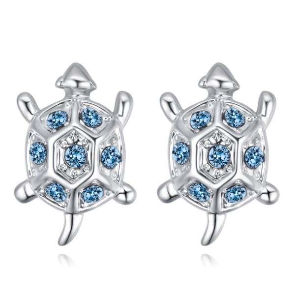 Turtle earrings 28413