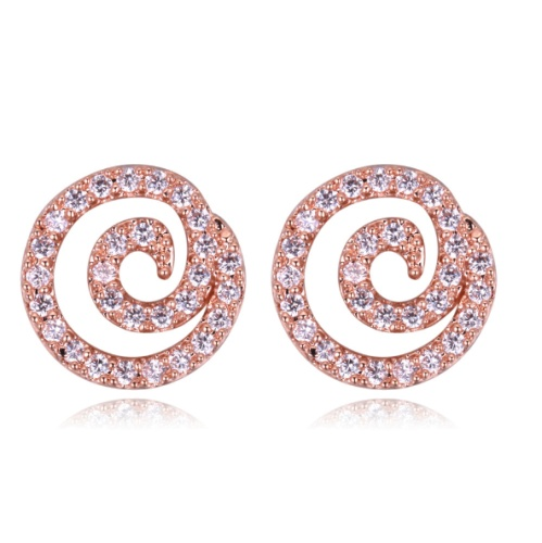 Swirl Earrings 28445