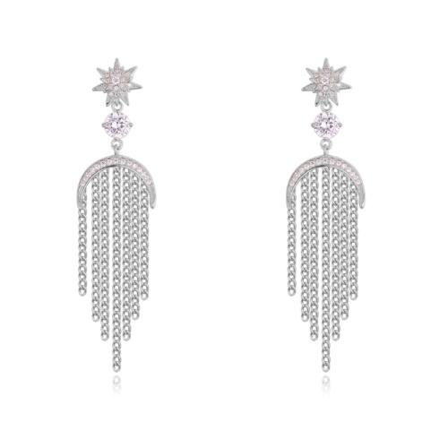 Tassel Stud Earrings 27917