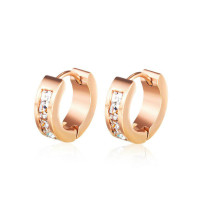 Cross-Border European and American Fashion Classic Earrings Fashion Stainless Steel Earrings Wholesale Gb584