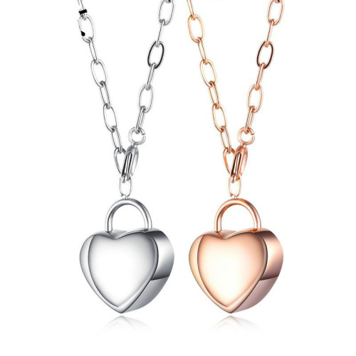 Korean-Style Sweater Necklace Fashion Ins Women Titanium Steel Lovely Pendant Necklace Long Necklace Gb1613