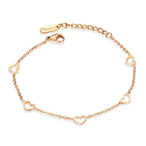 New Women's Korean-Style Classic Lovely Stainless Steel Bracelet Women Girl Jewelry Gifts Factory Wholesale Gb1063