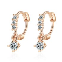 Ear Clip Women's Korean-Style Short Earrings for Women Zx554