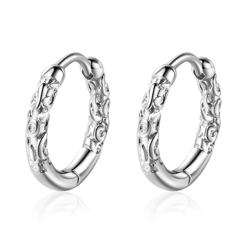 Hoop Earrings Korean-Style Earrings Sweet  Earings Fashion Jewelry Zx552