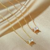 Japanese and Korean Slim Waist Necklace Women's Fashion Design Clavicle Chain Luxury Necklace Jewelry Wholesale Gb001